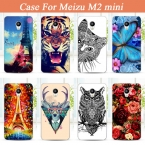 Цветные Paiting чехол для Meizu м2 мини с 14 моделей животных цветов в наличии бесплатная доставка