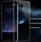 Прозрачный Мягкий Силиконовый 0.3 мм ТПУ Чехол для Meizu M3 примечание/M3 Мини/Чехлы для Meuzu Meizu Pro 6