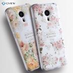 Meizu MX5 Мягкий Чехол TPU 3D Рельеф Цветной Рисунок Силиконовая Задняя Обложка Для Meizu MX 5 MX5 Телефон Сумка Делам