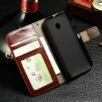 Винтаж Флип Кожаный Чехол Для Motorola Moto E XT1021 XT1022 XT1025 Встаньте Фоторамки Мешок Мобильного Телефона Обложка Падения корабль