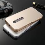 Для Motorola Moto G3 XT1561 XT1543 XT1540 Металл Алюминий   Акриловые Панели Твердый Переплет Дело противоударный Чехол Для Moto G3