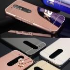 Роскошные Зеркало Гибридный чехол для Motorola Moto G4/G4 Plus жесткий Металлического Алюминия Protectoive задняя крышка для Moto g4 g4 плюс