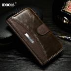 Для Motorola Moto G3 случай Роскошный Старинный Кожаный Чехол Для Motorola Moto G3 G 3-го Поколения XT1541 Крышка Бумажник с Модой ЛОГОТИП