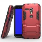 Для Moto G Heavy Duty Combo Гибридные Броня Чехол Для Motorola Moto G XT1028 XT1031 XT1032 XT1033 Защитник Чехол С Подставкой Кик