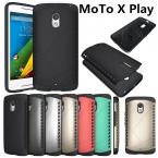 поступление гибридный тпу   PC матовый матовый экран броня твердый переплет чехол для Motorola Moto X играть XT1561 XT1562 крышка чехол