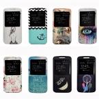 Роскошные Живопись PU Кожаный Чехол Для Motorola Moto G4/G4 Плюс G 4 Мобильный Телефон Сумка Стенд Случаях Назад крышка