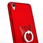 GOESTIME Новые антидетонационных Случай Мобильного Телефона Обложка Для Oppo R9 Назад Shell с Металлическим Кольцом Держатель Стенд Телефон Случаях