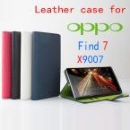 Высокое качество низ новый оригинальный OPPO Find7 X9007 кожаный чехол откидная крышка для OPPO найти 7 X 9007 чехол телефон покрытия в наличии