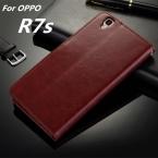 Fundas OPPO R7s высокое качество откидная крышка чехол магнитный кожаный чехол для OPPO R7s телефон оболочки капа