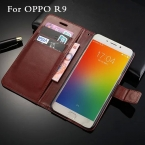 Oppo R9 чехол крышка роскошные раскладной кошелек стиль телефон кожаный чехол для OPPO R 9 защитной оболочки  новые поступления бесплатная доставка