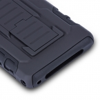 Противоударно влияние прочный комбинированный жесткий телефон чехол презентация для Sony Xperia Z1 компактный Z1 мини чехол