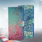 Новая Мода Живопись Стенд Флип Кожаный Чехол для Sony Xperia М2 S50H D2302 D2303 D2305 D2306 Бумажник Чехол с Карты Памяти