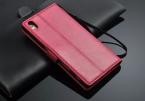 """Роскошный кожаный бумажник Filp телефон крышка чехол для нового Sony Xperia Z5 телефон сумки чехол 5.2 """" с фоторамка"""