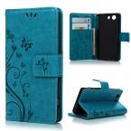 """Для Sony Z3 компактный 4.6 """" телефон сумка красочный-бабочка росписью бумажник флип кожаный чехол для Sony Xperia Z3 с подставкой"""