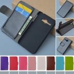 J and R бренд Класса Люкс ИСКУССТВЕННАЯ Кожа Флип Чехол Для Alcatel One Touch Star 6010 OT-6010 6010D TCL S520 Телефон распространяется на Случаи 9 Цветов