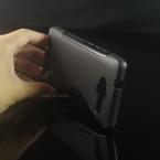 Мягкий s-линии волны небуксующий гель тпу чехол кожи для ZTE лезвие L3 смартфон защитный резиновый матовый ( 8 цветов )