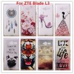 Для ZTE Blade L3 Случае, Роскошные Кристалла Алмаза 3D Bling Твердый Переплет Пластиковый Корпус Для ZTE Blade L3 случае