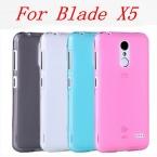 """Чехол на смартфон ZTE Blade X5 (D3)5.0"""". Красочный,полупрозрачный,тонкий.."""