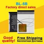 Бл 5б BL-5B аккумулятор аккумуляторы мобильных телефонов батарея для NOKIA 5300 5320 6120c 7360 6120ci 3220 3230 5070