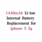 1440 мАч 3.7 В Литий-полимерный Аккумулятор Для iphone 5 5 Г Батарея мобильного телефона Аккумулятор Batterij Bateria
