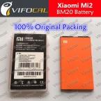 Xiaomi mi2s батареи BM20 На Складе 100 percent  новая замена 2000 мАч Аккумулятор для xiaomi mi2 m2 Мобильный Телефон   Бесплатная Доставка