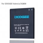 Батарея мобильного Телефона Doogee DG800 Батареи Оригинальный B-DG800 2000 мАч 3.8 В Кинжал DG800 Замена Bateria