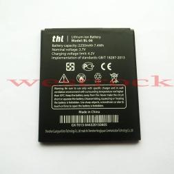 THL T6s Батареи На Складе BL06  Оригинальный BL-06 2250 мАч Большая Батарея для THL T6 Pro Смарт-Мобильный Телефон