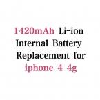 1420 мАч 3.7 В литий-полимерная батарея для iphone 4 4 г аккумулятор мобильного телефона аккумулятор Batterij Bateria