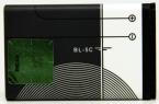 Bl-5c аккумулятор высокое Quality1020mAh аккумуляторы мобильных телефонов батарея для Nokia 1000 / 1010 / 1100 / 1108 / 1110 / 1111 / 1112 / 1116 / BL-5C