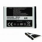 Новая батарея AB463446BU для samsung sgh-e251, Sgh-e258, Sgh-e350, Sgh-e428, Sgh-e500, Sgh-e900, Sgh-e908, Sgh-m620 бесплатная доставка