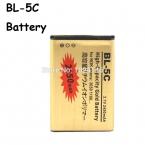 3.7 В 2450 мАч замена кулон-ионный BL-5C BL5C аккумулятор для Nokia 1100 2118 2310 3100 3120 3650 6030 6086 6108 6205 6230 6320i 6550