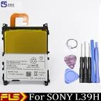 Оригинал 3000 мАч Аккумулятор телефона Для SONY L39T L39U Xperia Z1 L39H C6903 C6902 LIS1525ERPC Batterie Batterij Bateria   Бесплатная инструменты