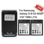 2 x 2300 мАч коммерческая батарея   зарядное устройство для Samsung Galaxy S III S3 i9300 i747 T999 L710