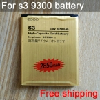 Горячая распродажа аккумуляторная литий-ионная золотой замена аккумулятор EB-L1G6LLU для Samsung Galaxy S3 i9300 аккумулятор