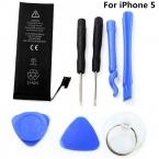 3.8 В 1440 мАч литий-ионная батарея для iPhone 5 аккумулятор телефона замена li-полимерный внутренний аккумулятор нулевой цикл с 7 шт. инструменты