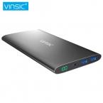 Vinsic Чужой 12000 мАч 20000 мАч Ultra Slim Power Bank Dual Smart USB Порта 2.4A Внешние Мобильные Зарядное Устройство