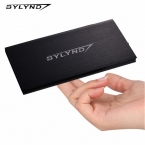 Оригинал BYLYND 12000 мАч Банк силы Портативный внешний аккумулятор Зарядное Устройство Dual USB Powerbank Для Xiaomi iphone/все USB устройств