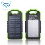 MUSTTRUE Солнечная Энергия Банк Dual USB Powerbank 10000 мАч Внешняя Батарея Портативное Зарядное Устройство Bateria наружный Пакет для Мобильного телефона