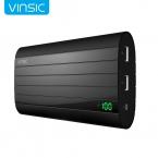 Vinsic ЖЕЛЕЗА P6 20000 мАч Внешнее Зарядное Устройство Smart Идентификации 2.4A Dual USB Порт Питания Банк Универсальный Черный
