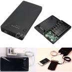 Универсальный 5 В 9 В 12 В 6 x 18650 Dual USB портативный внешний зарядное устройство зарядное устройство Box чехол для iPhone 5S 5 для Samsung примечание 3