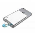 Ультра тонкий карты 2600 мАч Портативное Зарядное Устройство Резервного Копирования Внешняя Батарея Зарядное USB Аварийного Банк для xiaomi mi5 pro редми 3