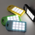 поступление солнечной зарядное устройство с двумя USB Powerbank 5000 мАч внешняя батарея портативное зарядное устройство Bateria наружног для мобильного телефона