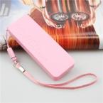 новый мобильный телефон зарядное устройство 5600 мАч универсальный внешнее зарядное устройство Powerbank для всех мобильных телефонов 6 цвет
