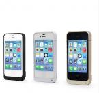 4000 мАч Резервное Копирование Перезаряжаемые Внешняя Батарея Зарядное Устройство Крышки Случая Обновления Power Bank мешок мобильного телефона питания для iPhone 4 4S