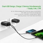Ugreen 5V3. 4A Универсальное Зарядное USB Зарядное Устройство Адаптер Стены Портативный ЕС ВЕЛИКОБРИТАНИЯ Подключите Мобильный Телефон Смарт-Зарядное Устройство для iPhone таблетки