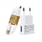 ЕС plug Зарядное Устройство адаптер   Кабель Micro USB Для Samsung Galaxy s5 s6 S4 I9500 S3 I9300 примечание 2