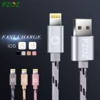 PZOZ Освещение Кабель Зарядное Устройство Адаптер Оригинальный USB Кабель Для iphone 6 s plus i6 i5 iphone 5 5s ipad air 2 Мобильного Телефона кабели