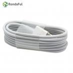 Rondaful 8pin 1 М USB Дата Последние Белый Провод Синхронизации, Зарядное Устройство Зарядное micro usb кабель для iPhone 5s 5 6 6 s plus iPad для ios 7 8 9