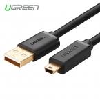Ugreen Mini USB Кабель 0.5 м 1 м 1.5 м 3 м Мини USB к USB данных Кабель Зарядного Устройства для Сотового Телефона MP3 MP4 GPS Камера HDD Mobile телефоны