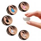 Мини Стиль Bluetooth Наушники Беспроводные Наушники В Ухо Bluetooth-гарнитура Стелс Гарнитура Наушники Универсальный для iPhone Xiaomi